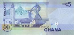 GHANA P. 38c 5 C 2011 UNC - Ghana