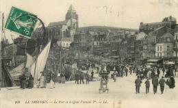 76 LE TREPORT Le Port Et Le Quai Francois 1ER - Le Treport