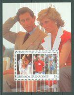 Grenada Grenadines - 1991 Diana Block MNH__(TH-8317) - Grenada (1974-...)