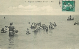 80 CAYEUX SUR MER L'heure Du Bains Animée - Cayeux Sur Mer