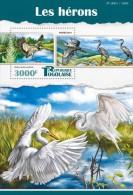Z08 TG15510b TOGO 2015 Herons Birds Vogel Oiseaux MNH - Togo (1960-...)