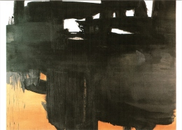 """CPM 68 (Haut-Rhin) Colmar - Musée D'Unterlinden. """"13 Septembre 1966"""" De Pierre Soulages TBE - Colmar"""