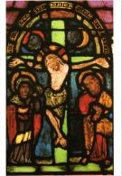 CPM 68 (Haut-Rhin) Colmar - Vitrail Roman De La Crucifixion De L'église Protestante Saint-Matthieu TBE - Colmar