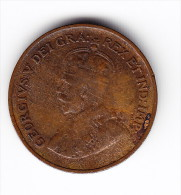 1936 Canada One Cent Coin - Canada