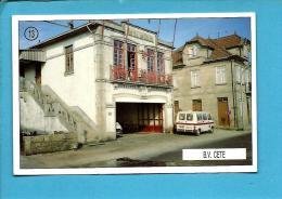 B. V. CETE - Bombeiros Voluntários ( Quartel ) - 1992 Pocket Calendar N.º 13 - Portugal - Calendriers