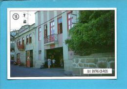 B. V. ENTRE-OS-RIOS - Bombeiros Voluntários ( Quartel ) - 1992 Pocket Calendar N.º 15 - Portugal - Calendriers