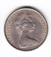 1970 Bermuda 5 Cent Coin - Bermuda