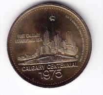 1975 Calgary Stampede $1 Token - Canada