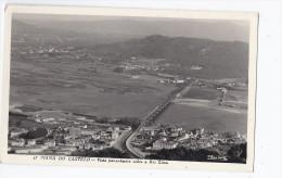 CPSM PORTUGAL - VIANA DO CASTELO - Vista Panorâmaca Sobre O Rio Lima - Très Jolie Vue D'ensemble Aérienne - Viana Do Castelo