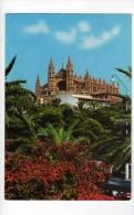 Cpm N° 928 MALLORCA PALMA Jardins Et Cathédrale - Mallorca