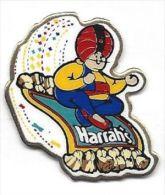 Harrah's Casino Ceramic & Brass Pin - Games