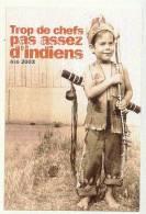 Jolie Carte Postale Tir A L´arc ( Archery ) Enfant Avec Arc Et Carquois - Tir à L'Arc