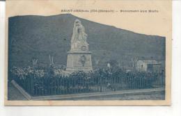 Saint Jean De Fos, Monument Aux Morts - France