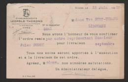 NIMES : ETABLISSEMENTS LEOPOLD THEROND - Petits Métiers