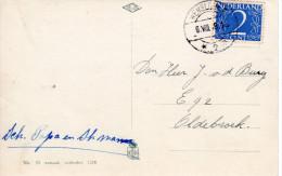 Lange Balk Romeinse Maand WEMELDINGE 2 Op Ansicht Naar Oldebroek - Poststempels/ Marcofilie
