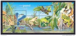 1999 - Australian SMALL POND Minisheet Stamps MNH - Blocks & Sheetlets