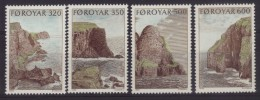 Danemark - Iles Féroé N° 184 à 187 Neufs ** - Paysages - Féroé (Iles)