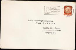 1939. 3 Pf. Hindenburg BERLIN 19.4.39 REICHS-GARTENSCHAU STUTTGART 1939.  (Michel: 513) - JF190270 - Covers & Documents