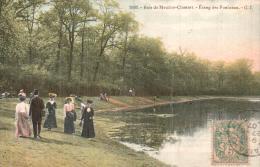 92 BOIS DE MEUDON CLAMART ETANG DES FONCEAUX ANIMEE CIRCULEE 1907 - Meudon