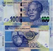 SOUTH AFRICA       100 Rand       P-136[c]       ND (2015)       UNC  [ Sign. Kganyago ] - Zuid-Afrika