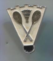 Wed, 20 May 2015 Badminton Sport - Russian Pin, Vintage Badge - Badminton