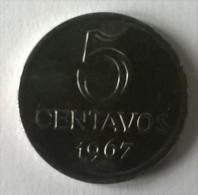 Brésil - 5 Centavos 1967 - - Brasil