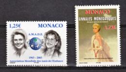 Monaco 2365 2379 Princesse Grace TB ** MNH SIN CHARNELA Faciale 3 - Monaco