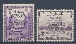 140010790  PAQUISTAN  YVERT  Nº  102/3  **/MNH - Pakistan
