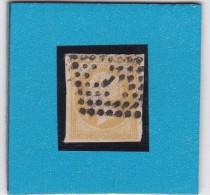 OBLITERATION  DE PARIS  J Lettre Baton SUR N° 13 A  - REF AC - Marcophilie (Timbres Détachés)