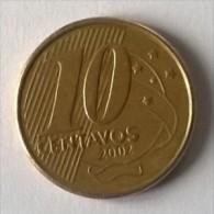 Brésil - 10 Centavos 2002 - - Brazil