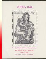 Rwanda BL 090** Noel La Vierge Des Harpies  MNH - Rwanda