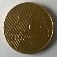 Brésil - 25 Centavos 2003 - - Brasil