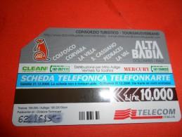 A2168 Scheda Telefonica Alta Badia - Tarjetas Telefónicas