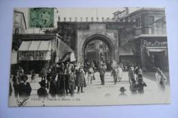 CPA TUNISIE TUNIS. Place De La Bourse. 5 Avril 1912. - Tunisie