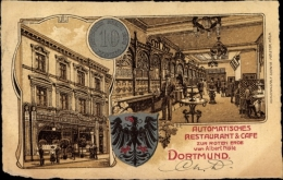 Artiste Cp Dortmund Im Ruhrgebiet, Restaurant Cafe Zur Roten Erde, Inh Albert Nölle - Deutschland
