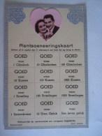 Koppel Rantoeneeringskaart Goed Voor Glimlach Kussen Streelingen Uren Geluk - Couples