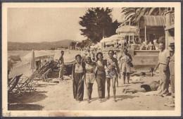 """JUAN-les-PINS. - La Plage   """" COTE D'AZUR """" - Département Alpes-Maritimes - Commune Antibes - Juan-les-Pins"""