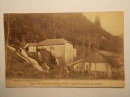 Carte Postale - CHATILLON DE MICHAILLE (01) - Cascade Et Moulin De Trebillet (1250/1000) - Otros Municipios