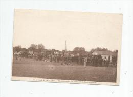 Cp , Militaria  , CAMP DE CHALONS , En Manoeuvres , L´heure De La Soupe Approche , écrite , Ed : Mutte - Manovre