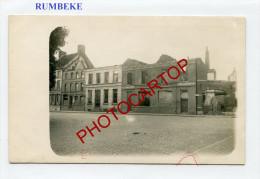 RUMBEKE-Carte Photo Allemande-Guerre 14-18-1 WK-BELGIQUE-BELGIEN- - Roeselare
