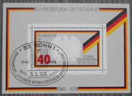 BLOC RFA - 25 Jahre Bundesrepublik Deutschland - 15.05.1974 - [7] Federal Republic