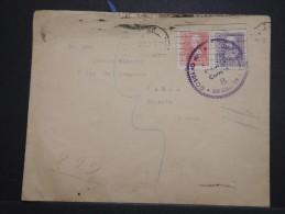 ESPAGNE - Enveloppe Avec Censure De San Sebastian En 1939 Pour La France - Aff. Plaisant - A Voir - Lot P14622 - Marques De Censures Républicaines