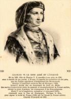 Postcard / CP / Postkaart / Charles VI (roi De France) - Historische Persönlichkeiten