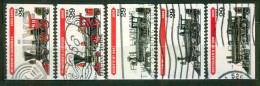 Locomotive à Vapeur - ETATS UNIS - Hudson's General, Mc Queen's Jupiter, Eddy's N°242, Ely's N°10, Buchanan's N°999 1994 - United States
