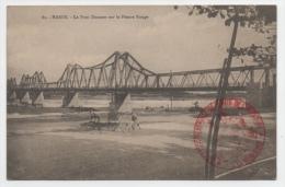 VIET NAM - HANOI Le Pont Doumer Sur Le Fleuve Rouge - Viêt-Nam