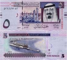 SAUDI ARABIA       5 Riyals       P-32[c]       2012 / AH1433       UNC - Arabie Saoudite
