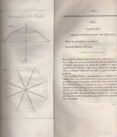 Brevet D´invention De 1810 - Lot De 3 Brevets D´importations - Parapluie à Gouttière - Pyrotechnique - Platine De Fusil - Décrets & Lois