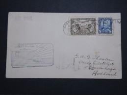 CANADA - Enveloppe 1er Vol Saskatoon / Régina  Pour La Hollande En 1930  - A Voir - Lot P14629 - Primeros Vuelos