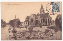 Vilvoorde: Le Squaire Et L' Eglise. - Vilvoorde