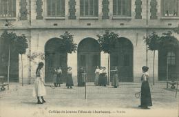 50 CHERBOURG / Collège Des Jeunes Filles, Cours De Tennis / SPORT TENNIS - Cherbourg